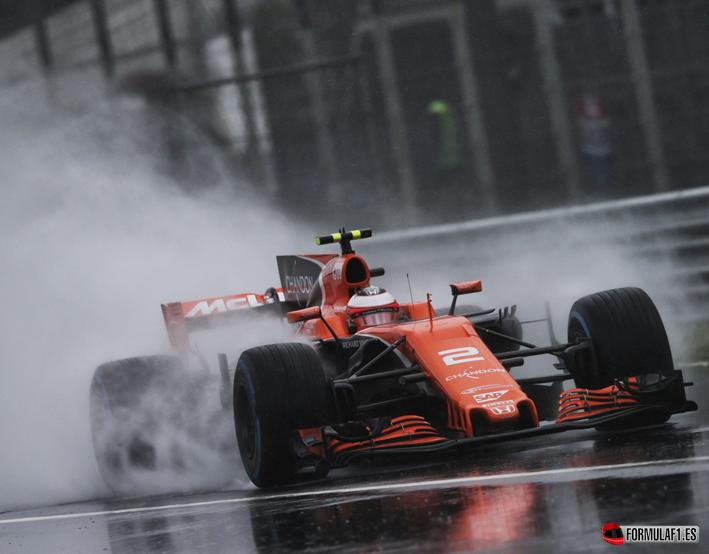 Vandoorne. Calificación GP de Italia 2017