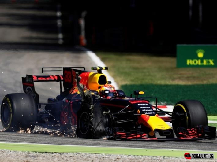 Verstappen. GP Italia 2017