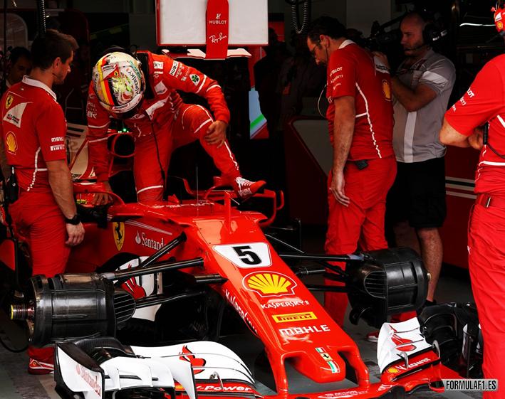 Vettel. Calificación GP Malasia 2017