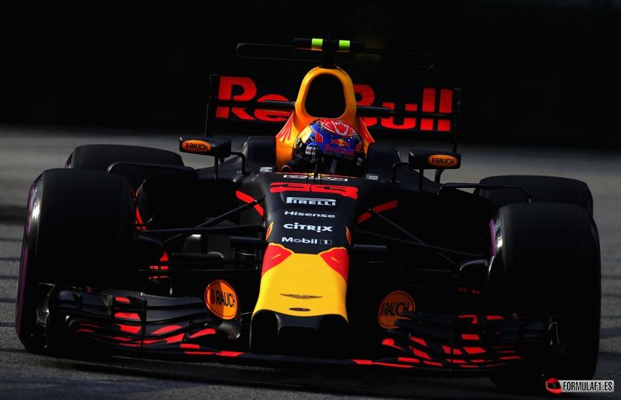 GP de Singapur 2017- Libres 3: Verstappen el más rápido mientras Alonso es cuarto