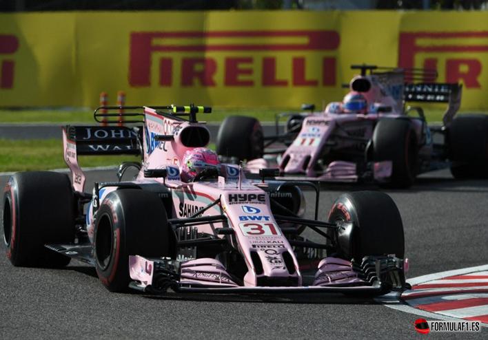 Force India. GP de Japón 2017