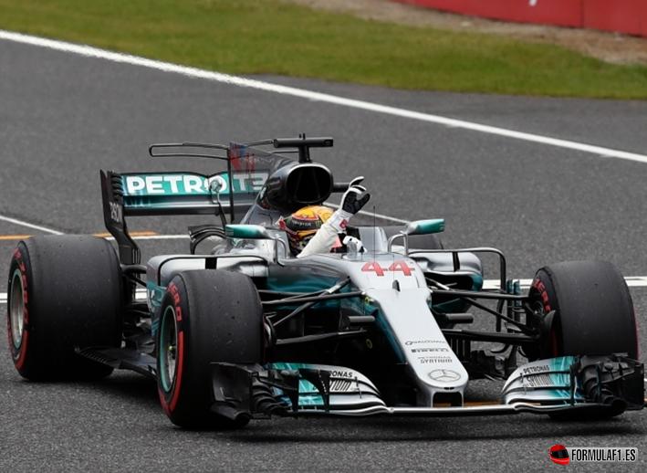 Hamilton 71º Pole Position. GP de Japón 2017