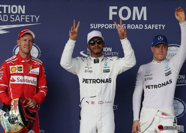 Hamilton, Pole en el GP EE.UU. 2017