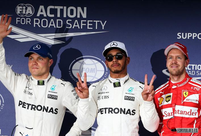 Hamilton consigue la Pole del GP de Japón 2017