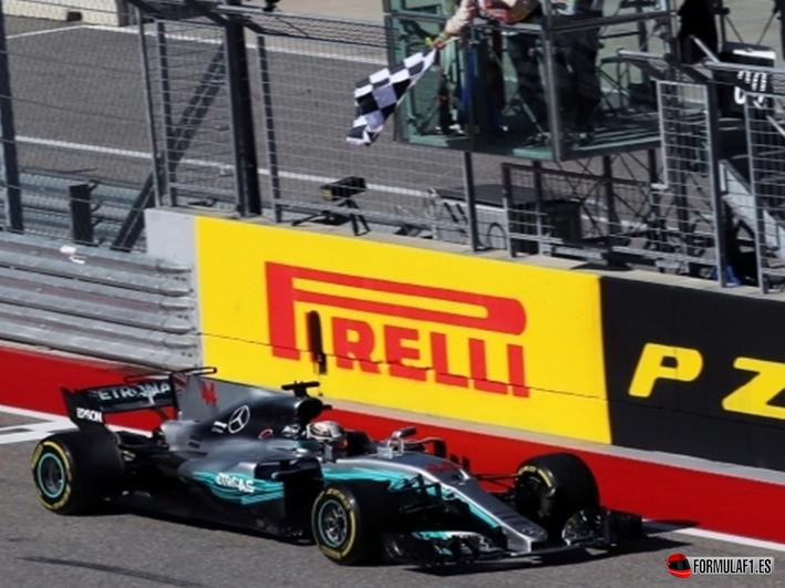 Hamilton consigue la victoria del GP de EE.UU. 2017