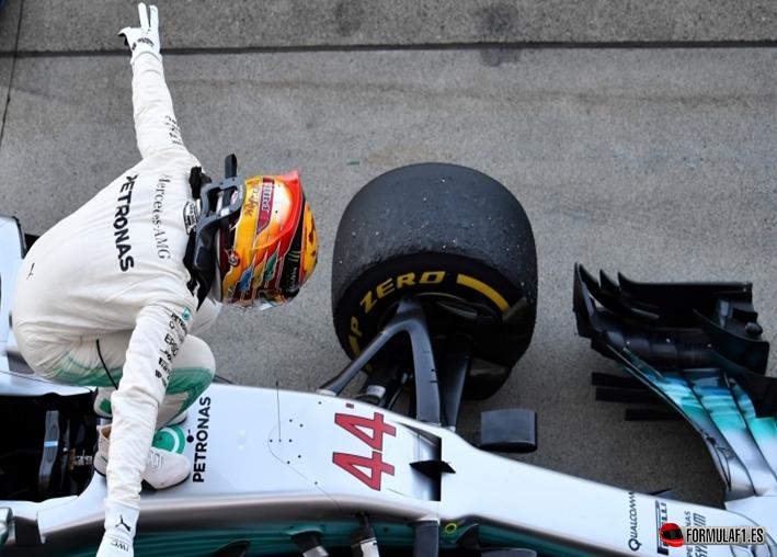 Hamilton consigue la victoria. GP de Japón 2017