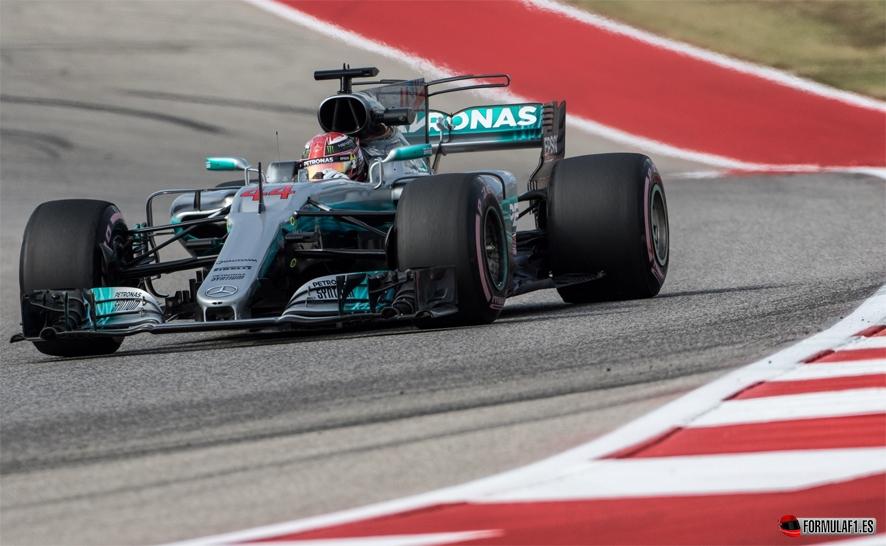 GP de EE.UU. 2017-Libres 3: Hamilton lidera pero Vettel acorta distancias