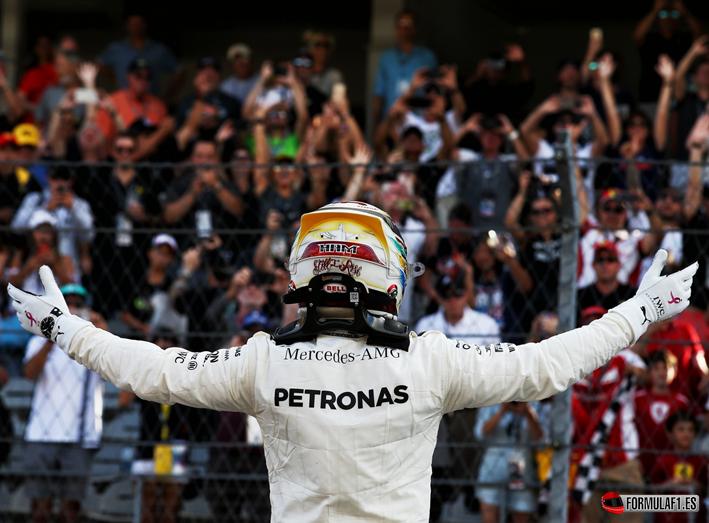 Hamilton logra la Pole. GP EE.UU. 2017