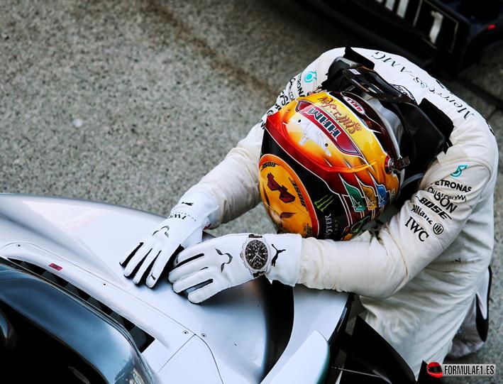 Hamilton logra la victoria. GP de Japón 2017