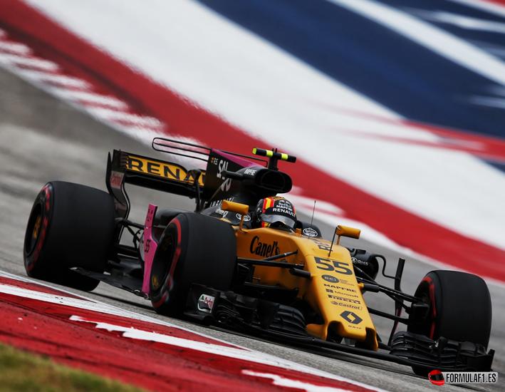 Sainz. Calificación GP EE.UU. 2017