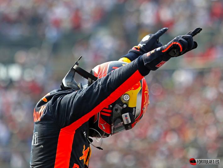 Verstappen consigue la victoria del GP de México 2017