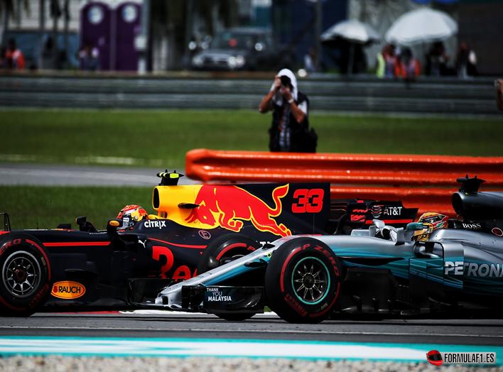 Verstappen logra la victoria. GP de Malasia 2017