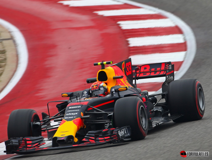Verstappen. Calificación GP EE.UU. 2017