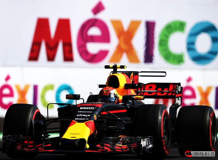 Verstappen. Calificación GP de México 2017