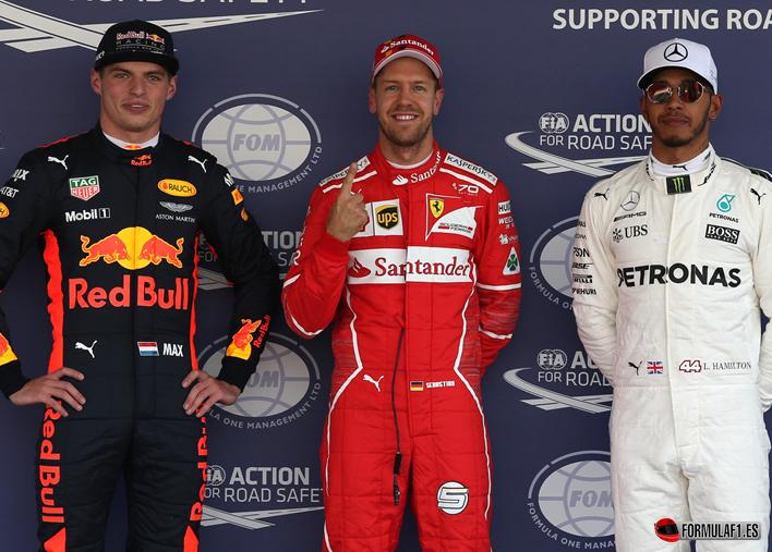 Vettel consigue la Pole. GP México 2017