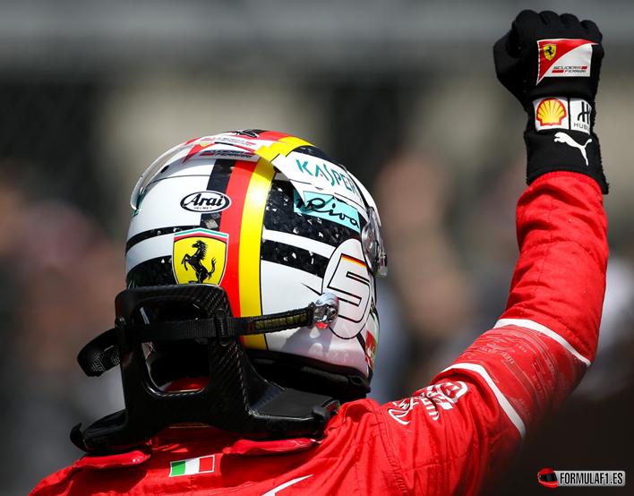 Vettel. Calificación GP de México 2017