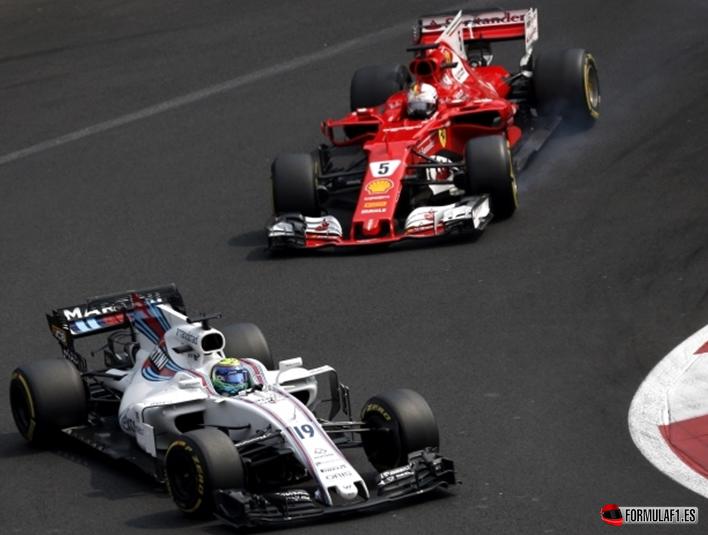 Vettel. GP México 2017