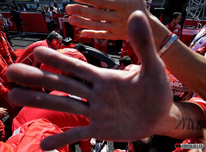 Vettel. GP de Japón 2017