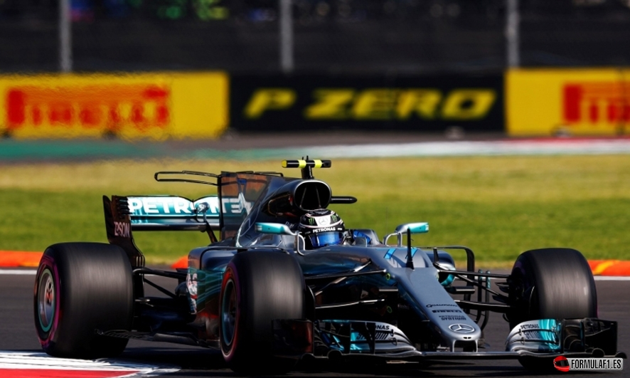 GP de México 2017 – Libres 1: Doblete de Mercedes con Bottas en cabeza