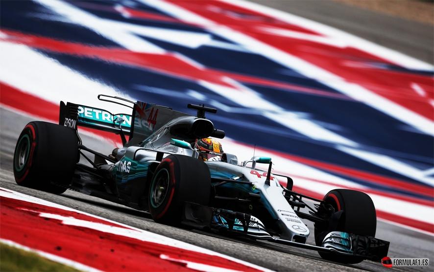 GP de EE.UU. 2017-Libres 2: Hamilton domina con Verstappen a cuatro décimas