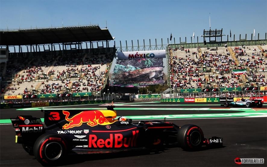 GP de México 2017 – Libres 2: Máxima igualdad con Ricciardo líder