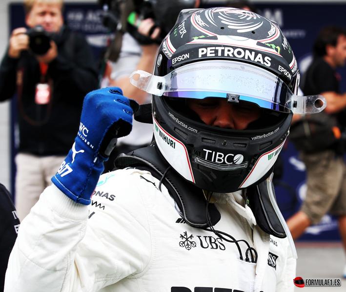 Bottas consigue la Pole. Calificación GP Brasil 2017
