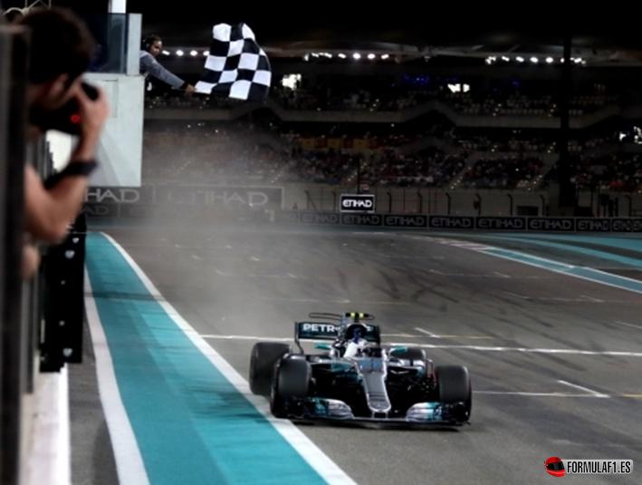 Bottas consigue la victoria. GP de Abu Dabi 2017