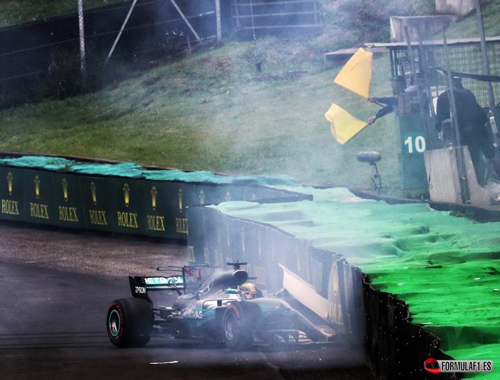 Hamilton. Calificación GP Brasil 2017