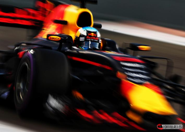Ricciardo. Calificación GP Abu Dabi 2017