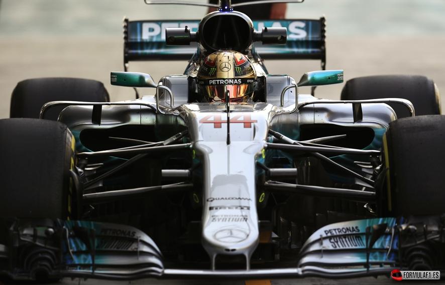 GP de Abu Dabi 2017 – Libres 3: Doblete de Mercedes antes de la batalla por la pole