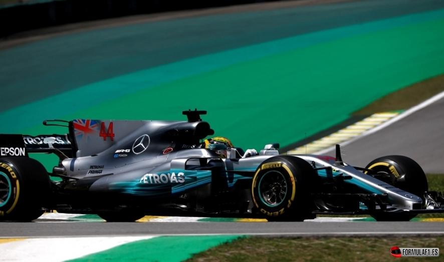 GP de Brasil 2017-Libres 1: Hamilton lidera con comodidad en Interlagos