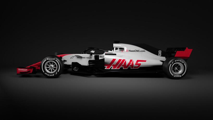Haas desvela por sorpresa el VF-18