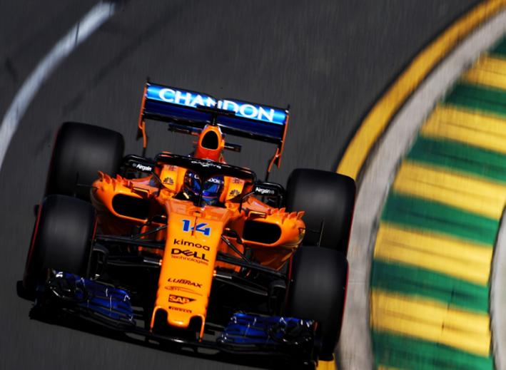 Alonso. Calificación GP de Autralia 2018
