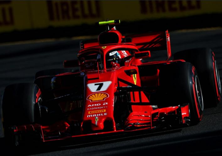 Raikkonen. Calificación GP de Autralia 2018