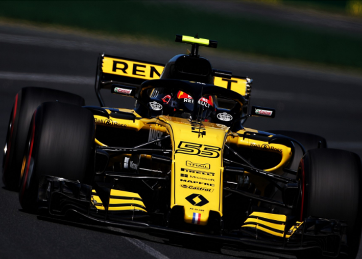 Sainz. Calificación GP de Autralia 2018