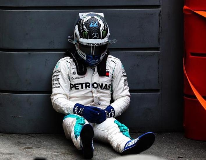 Bottas. GP Azerbaiyán 2018