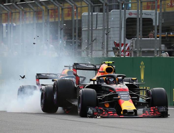 Red Bull. GP Azerbaiyán 2018