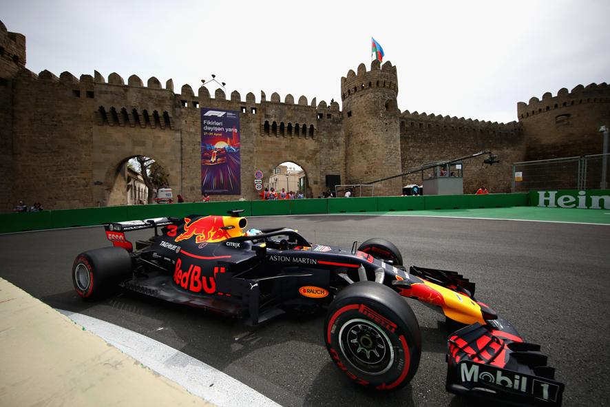 GP de Azerbaiyán 2018- Libres 2: Ricciardo bate a Raikkonen por 7 centésimas