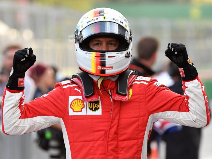 Vettel consigue la Pole. GP Azerbaiyán 2018