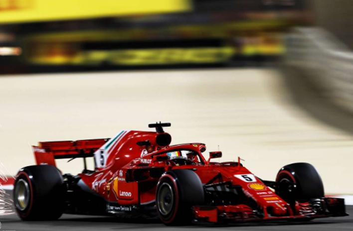 Vettel logra la Pole. GP Baréin 2018