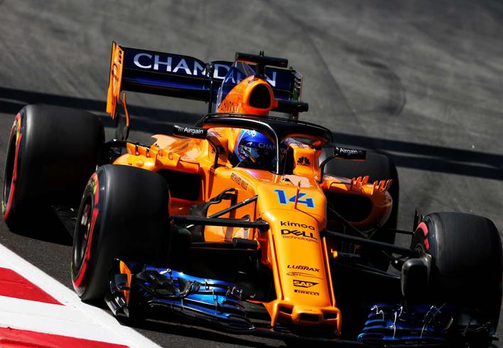 Alonso. Calificación GP España 2018