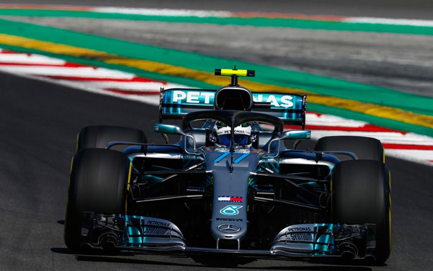 GP de España 2018 – Libres 1: Valtteri Bottas vuela en Montmeló