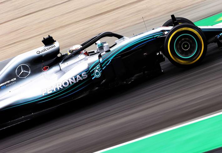 Hamilton logra la Pole. Calificación GP España 2018