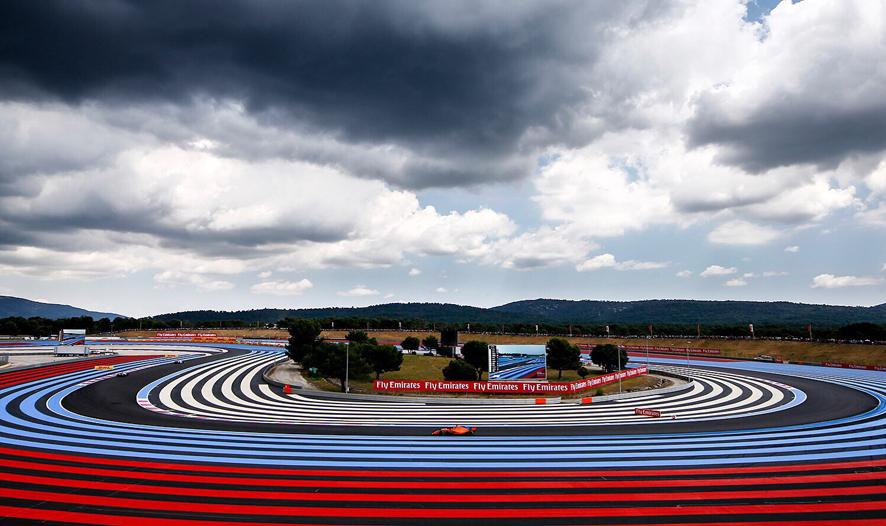 GP de Francia 2018 – Libres 3: Sainz segundo y Alonso cuarto en una sesión pasada por agua