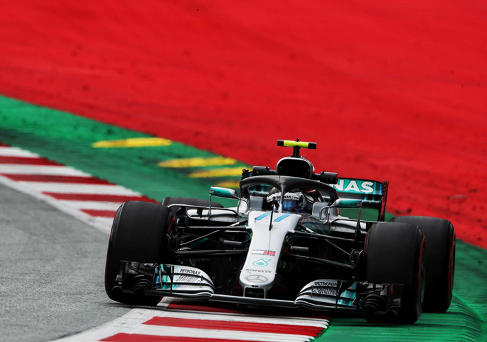 Bottas consigue la Pole del GP de Austria 2018