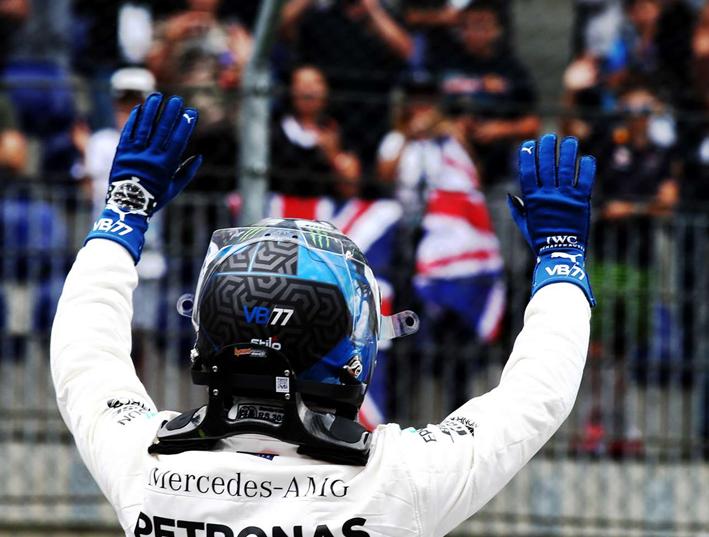 Bottas logra la Pole del GP de Austria 2018