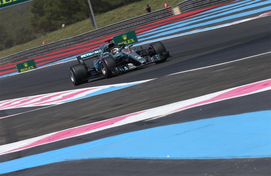 GP de Francia 2018 – Libres: Lewis Hamilton asusta en Paul Ricard