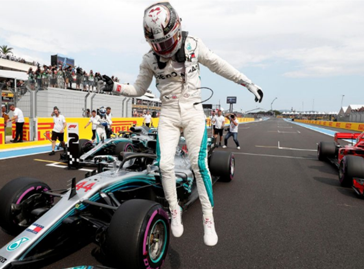 Hamilton consigue la Pole. GP Francia 2018