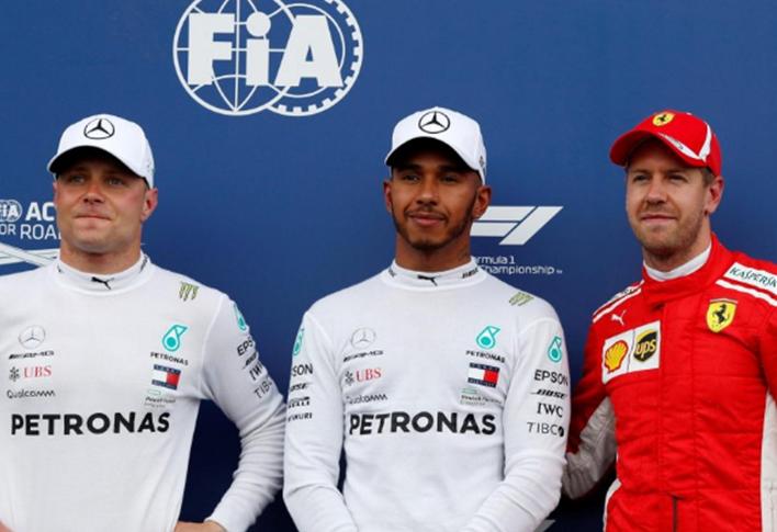 Hamilton logra la Pole. GP Francia 2018