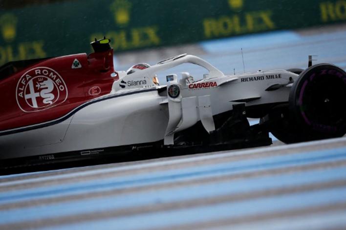 Leclerc. Calificación GP Francia 2018